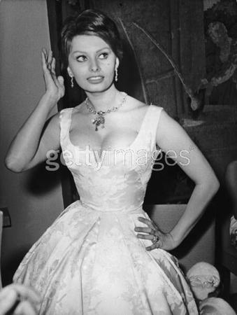 50' roky - Sophia Loren