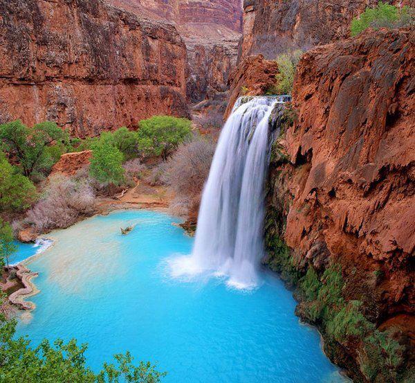 Medové týždne - Havasu Falls v Arizone