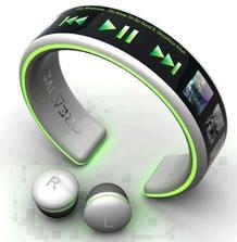 Nový MP3 na ruku, dobíja sa tepom