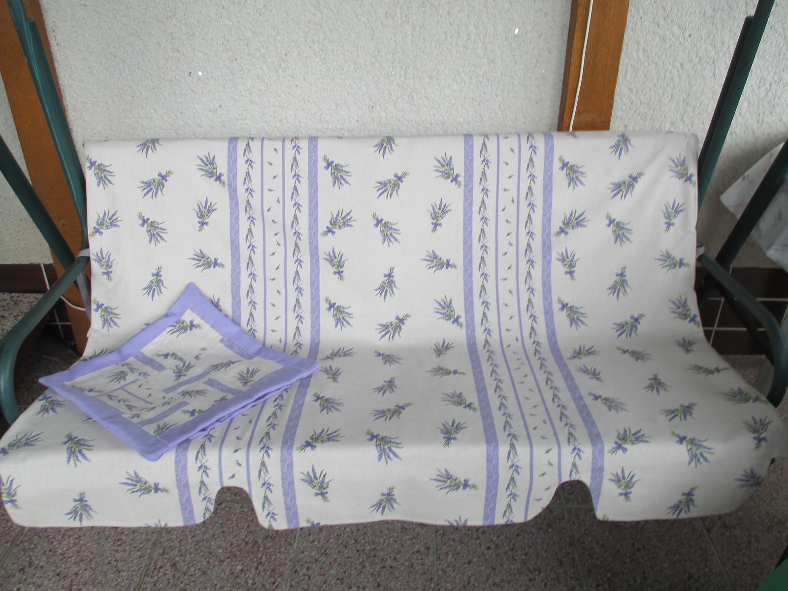 Šijem - nová sedačka na hojdačku