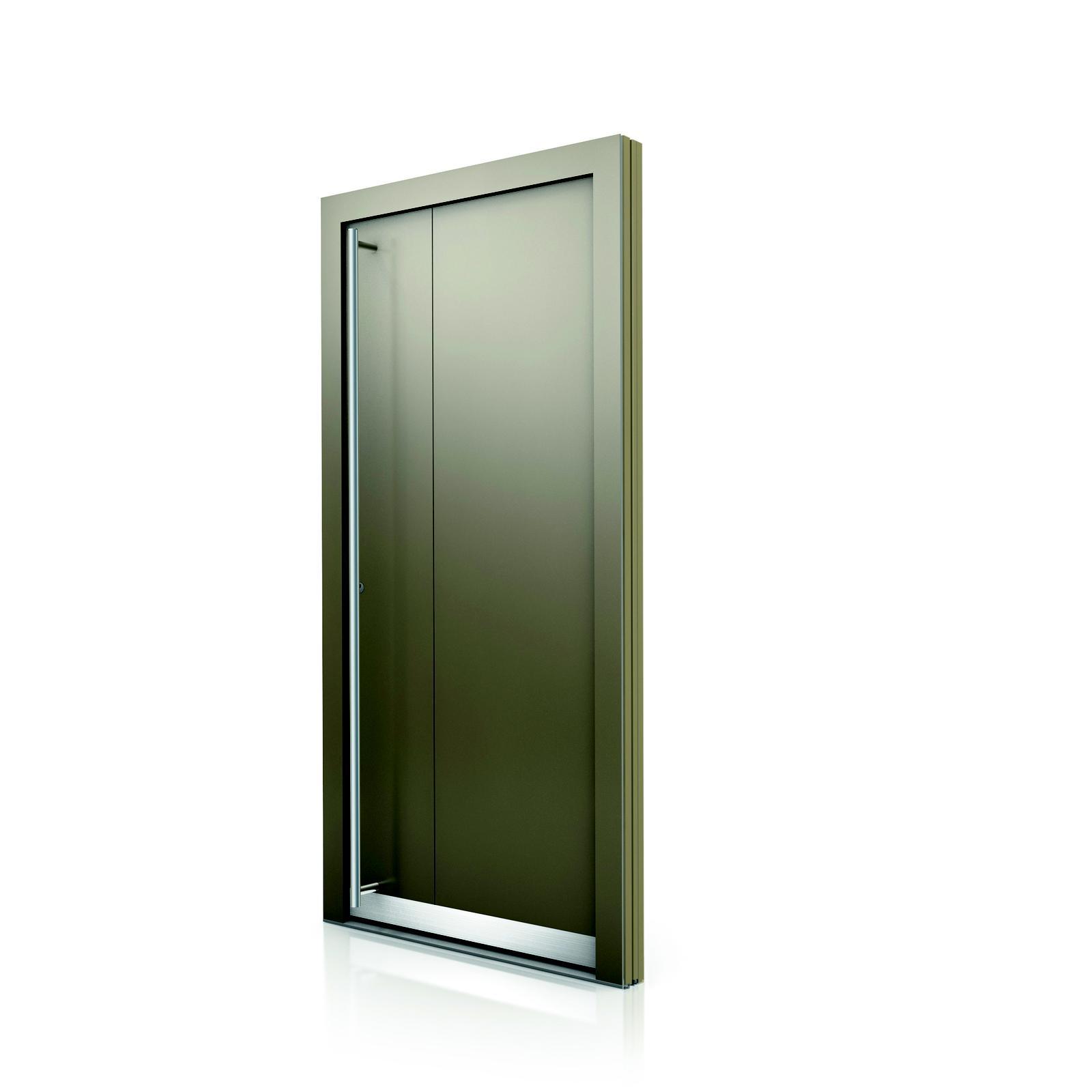 Internorm drevo-hliníkové vchodové dvere HT400 - Obrázok č. 2