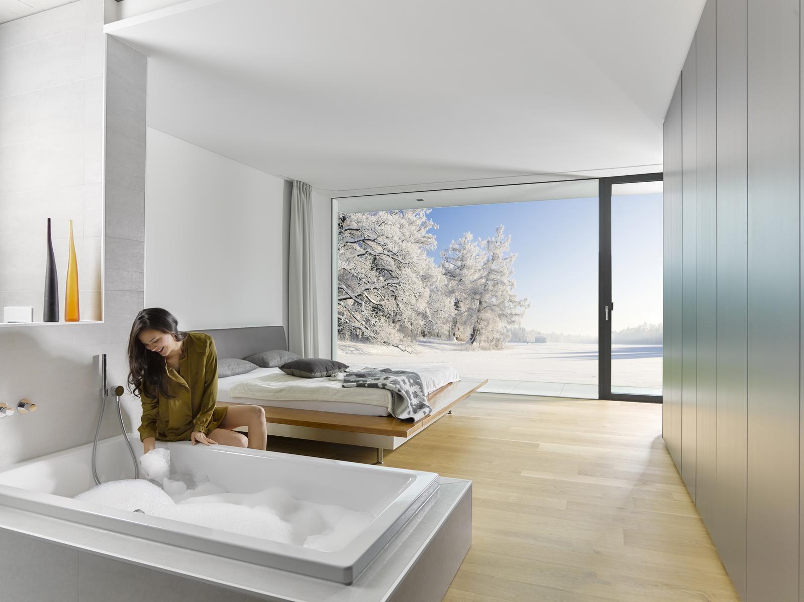 Inšpirujte sa.... kúpeľňa s krásnym výhľadom - Obrázok č. 2