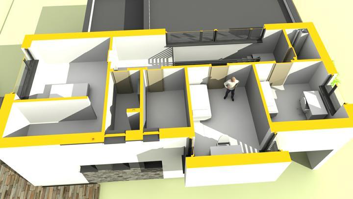 Rodinný dom - košice časť pereš - poschodie