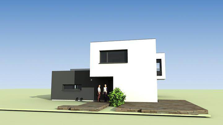 Rodinný dom - košice časť pereš - pohľad z ulice
