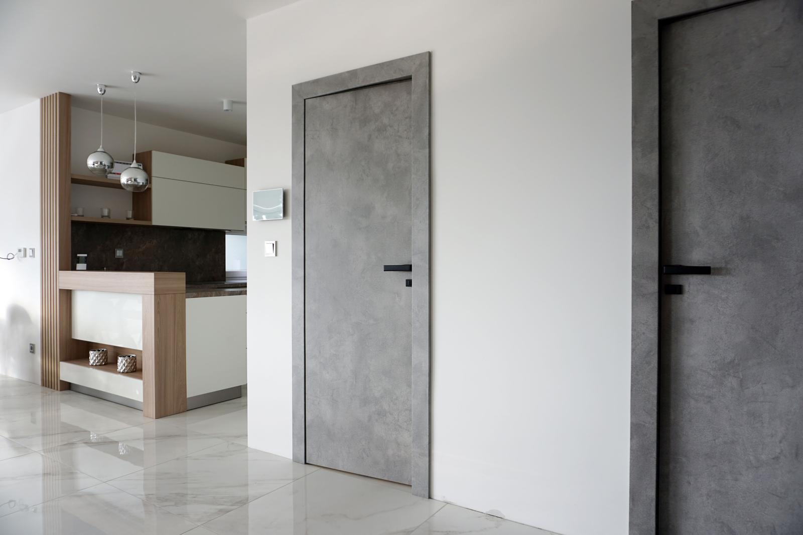 Reverzné dvere - CPL betón šedý - Obrázok č. 3