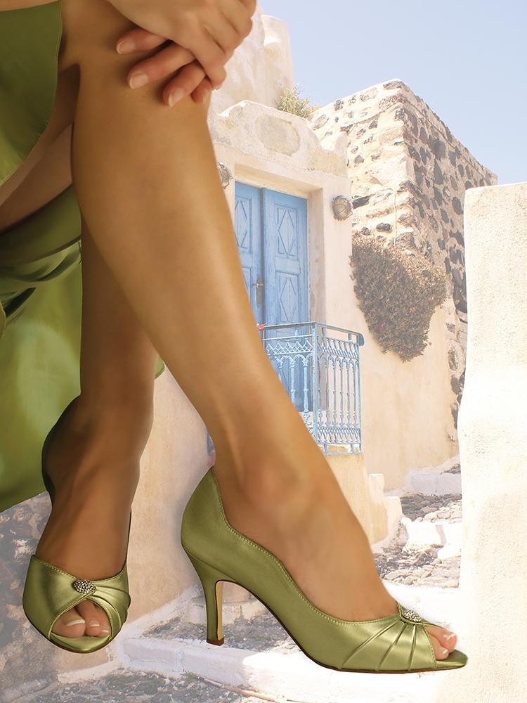 Hezký den,  nabízíme saténovou obuv... - Obrázok č. 4