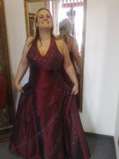 šaty na převlečení- sedly, ale chtěla jsem modrééé