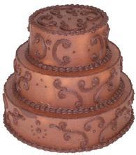 Podobný dortík nejspíš budu mít ... Jen ještě do toho červené marcipánové růžičky ...