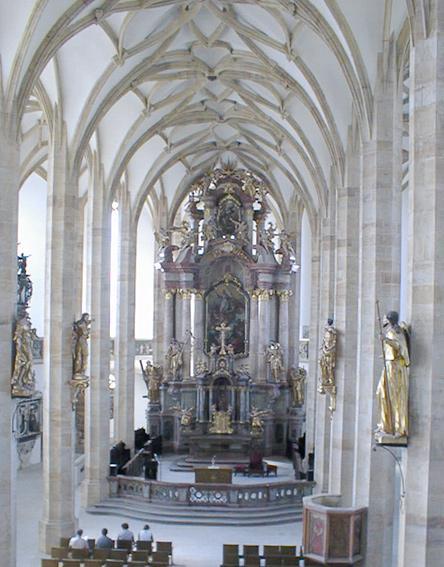 M+R=VL ;o)) - Interiér kostela