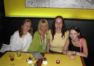 červencový sraz beremese: Fialinka, Plysacek, Katya a Milli