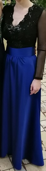 Dámska spoločenská sukňa - Obrázok č. 1