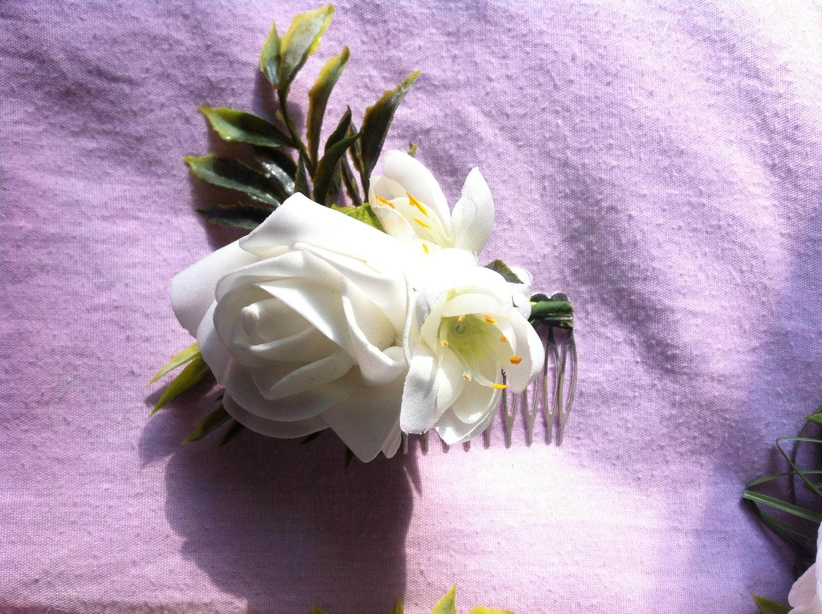 Netradiční svatební kytice - pěnové růžičky + polštářky pod prstýnky, košíčky - Obrázek č. 66