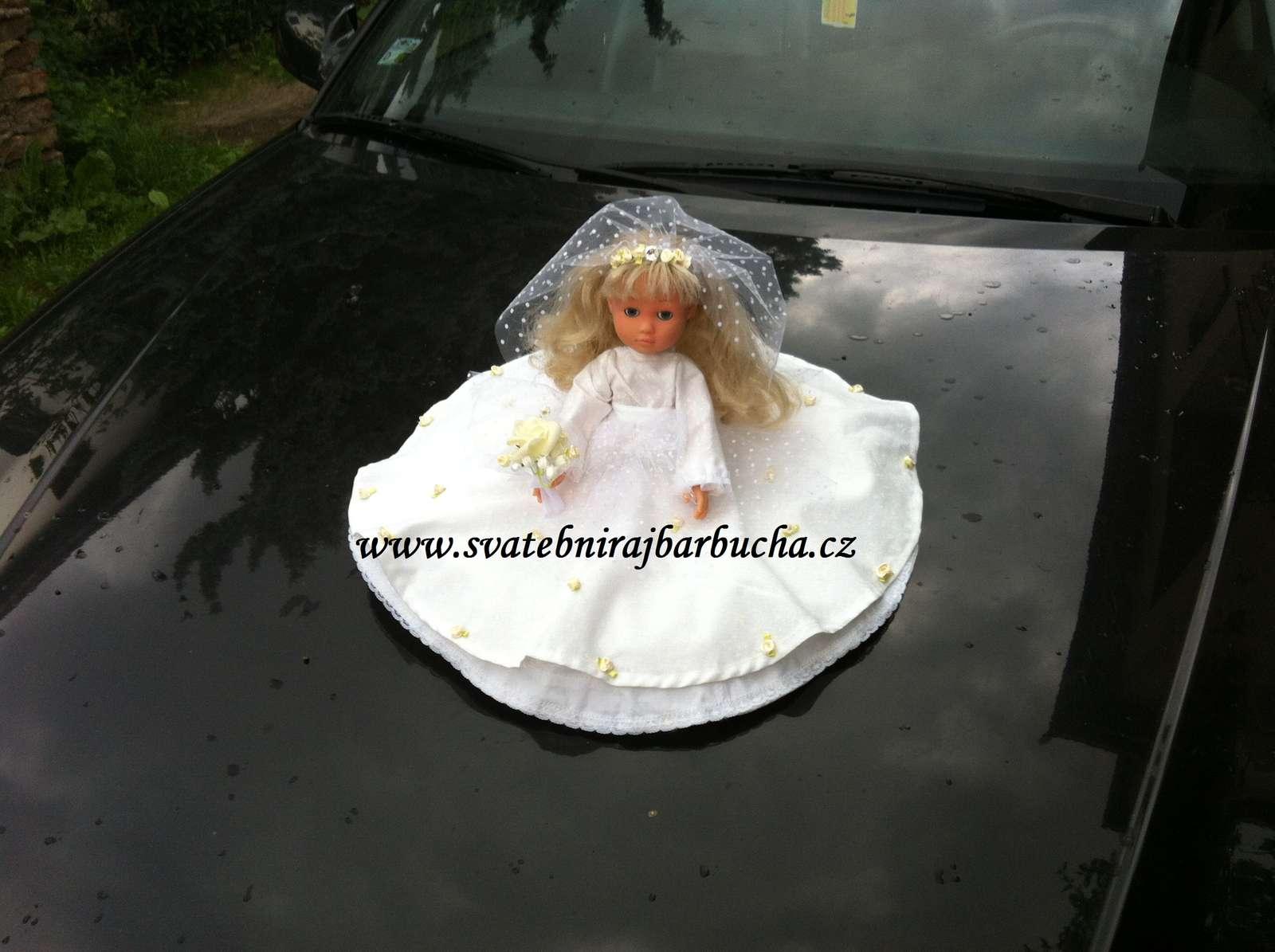 Svatební panenka na auto - Obrázek č. 1