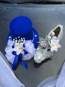 Svatební dekorace na auto-set- popelčin střevíc,