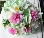 Svatební kytice a korsáž - ,