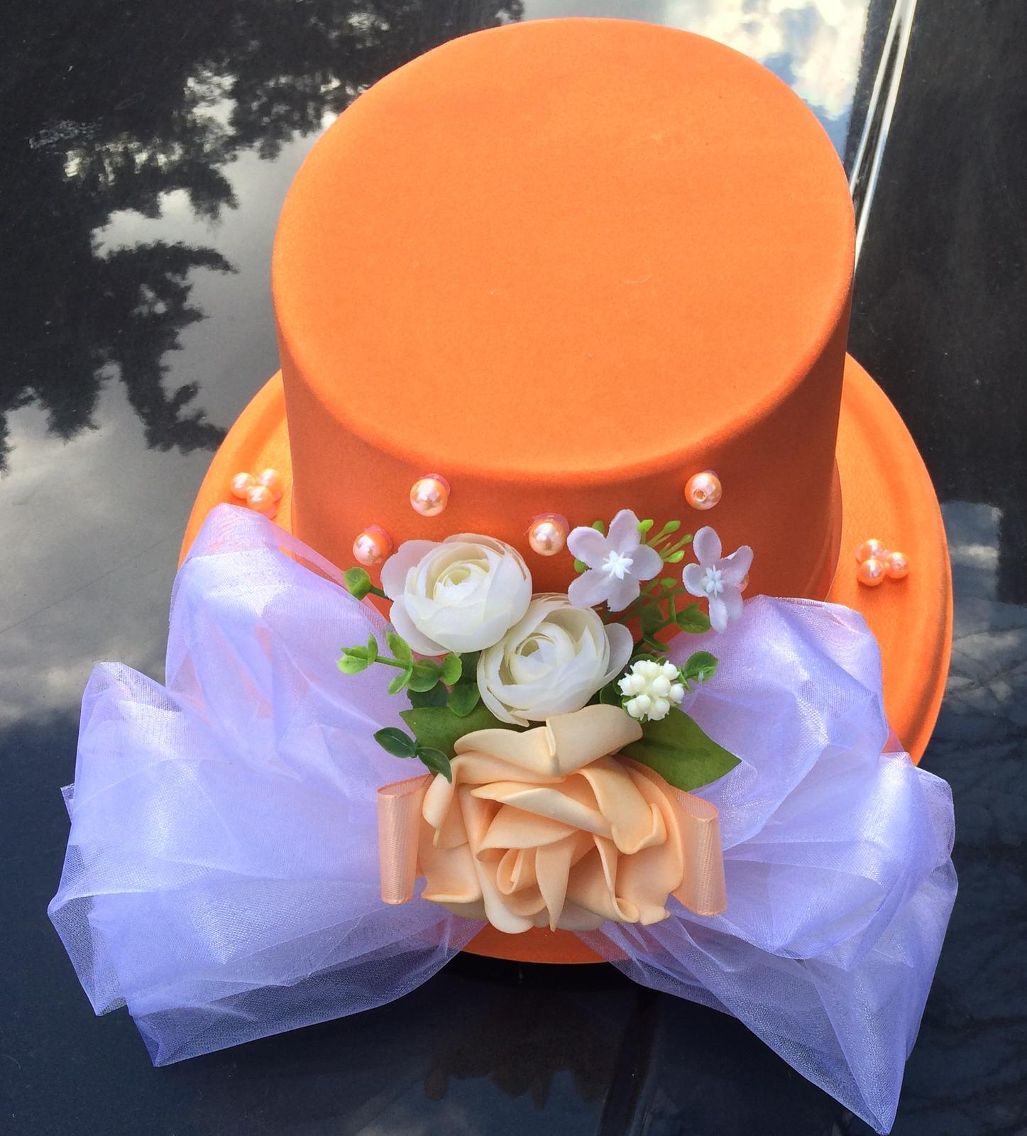Cylindr na auto-oranžový - Obrázek č. 1