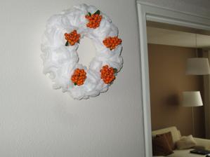 Aspom malá jesenná dekorácia.