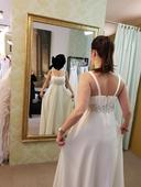 svatební šaty 38-40, 40