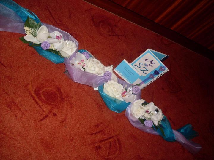 Serepetičky na vyzdobu... - s vlastnorucne vyrobenou pozvankou.