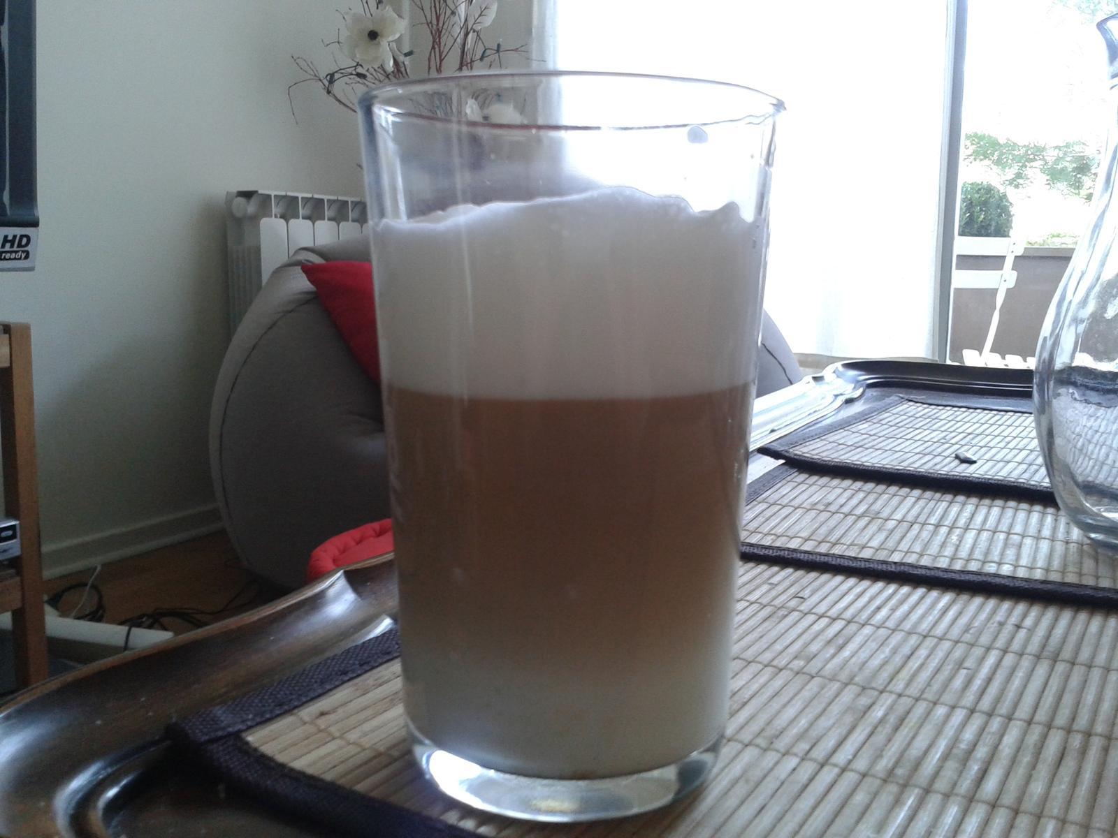Ukazka mojho domaceho latte.... - Obrázok č. 1