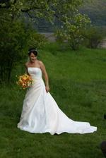Nevěsta v plné dééééélce:-)