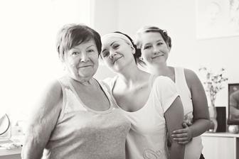 moja babuska a najmladsia sestra