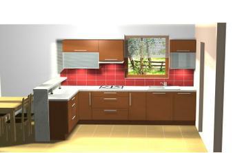 návrh naší kuchyně