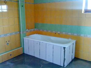 Nová koupelna se už rýsuje
