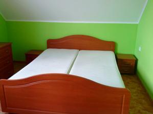 konečně složená ložnice