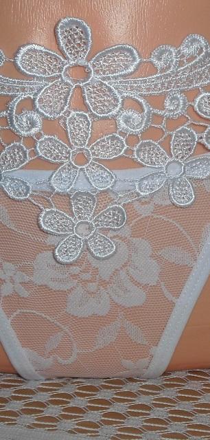 Luxusne biele tango nohavicky - Obrázok č. 3