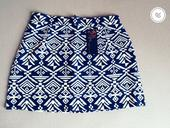Letná sukňa so zimným motívom , M
