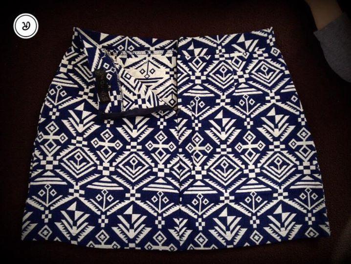 Letná mini sukňa  - Obrázok č. 2