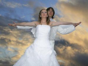 Láska nás dvíha do neba...