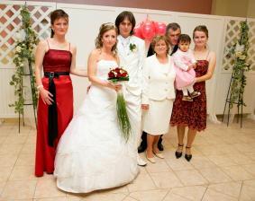 Moji rodičia, sestričky a neterka Anetka
