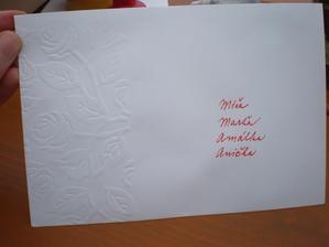 A dopsali adresáty.