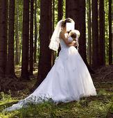 Svadobné šaty s bolerkom, veľkosť 36., 36