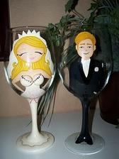 Svadobné poháre