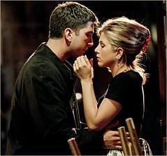 svadby priateľov - Ross a Rachel