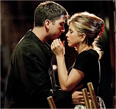 Livia&rasto prípravy - svadby priateľov - Ross a Rachel