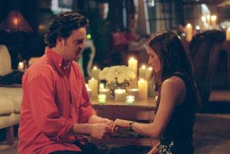 ako Chandler žiadal Moniku o ruku - už naozaj