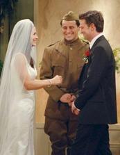 svadba Moniky a Chandlera