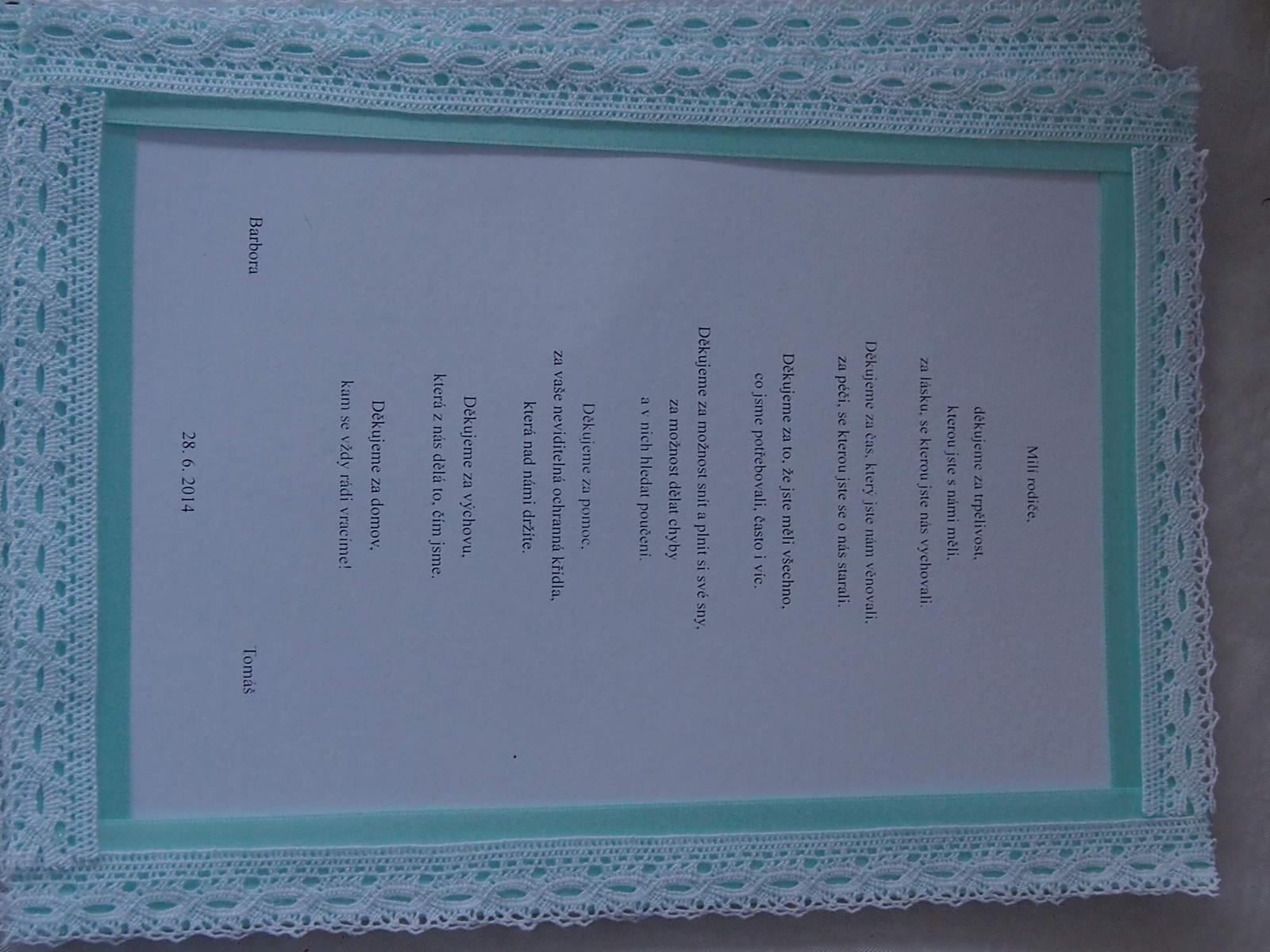 26. črc 2014 ve 12 46 • Svatba byla v červnu 2014 • Odpověz • To se mi líbí  • d785aefd0d