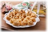 Svatební koláčky tvarohové a ořechové