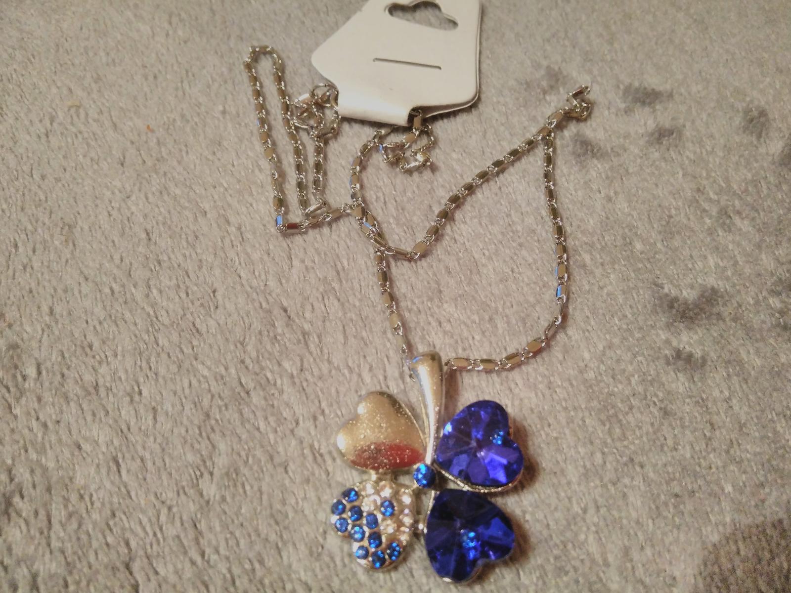 Modrý náhrdelník - Obrázok č. 2