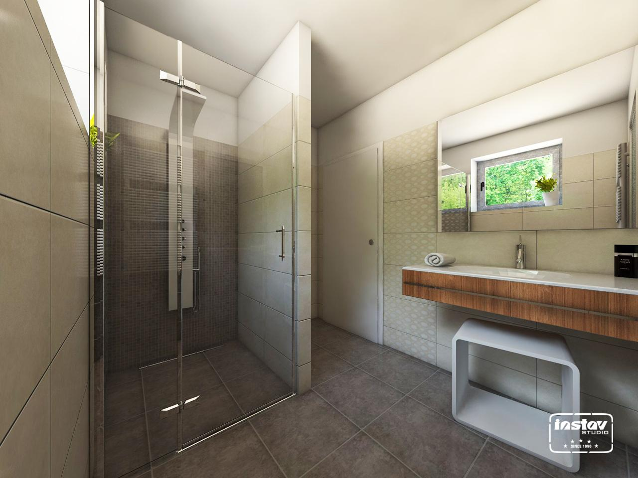 Vizualizácie kúpeľní - Vizualizácia kúpeľne - Finezza