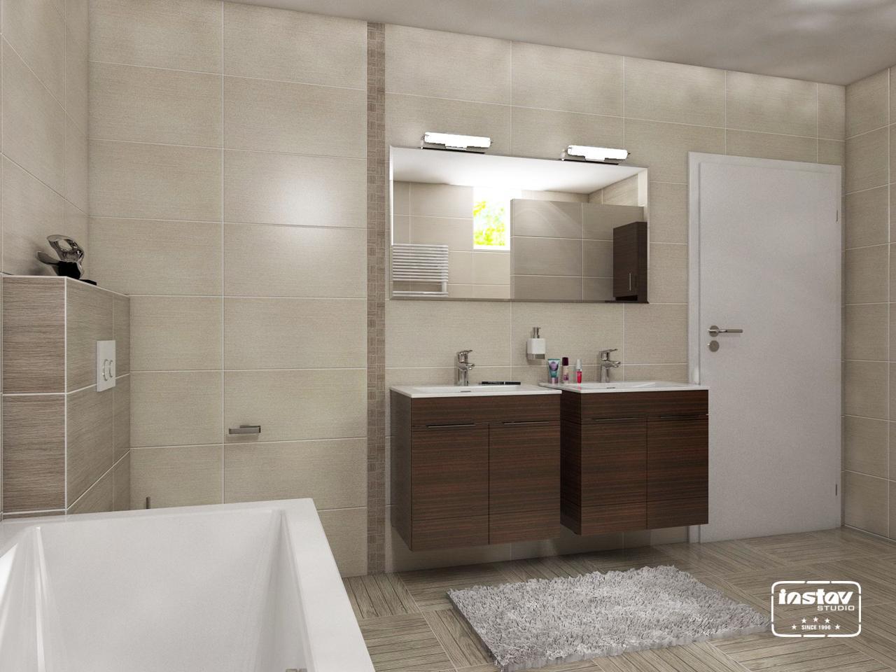Vizualizácie kúpeľní - Vizualizácia kúpeľne - Bora