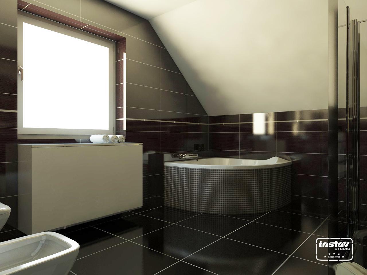 Vizualizácie kúpeľní - Vizualizácia kúpeľne - Secret