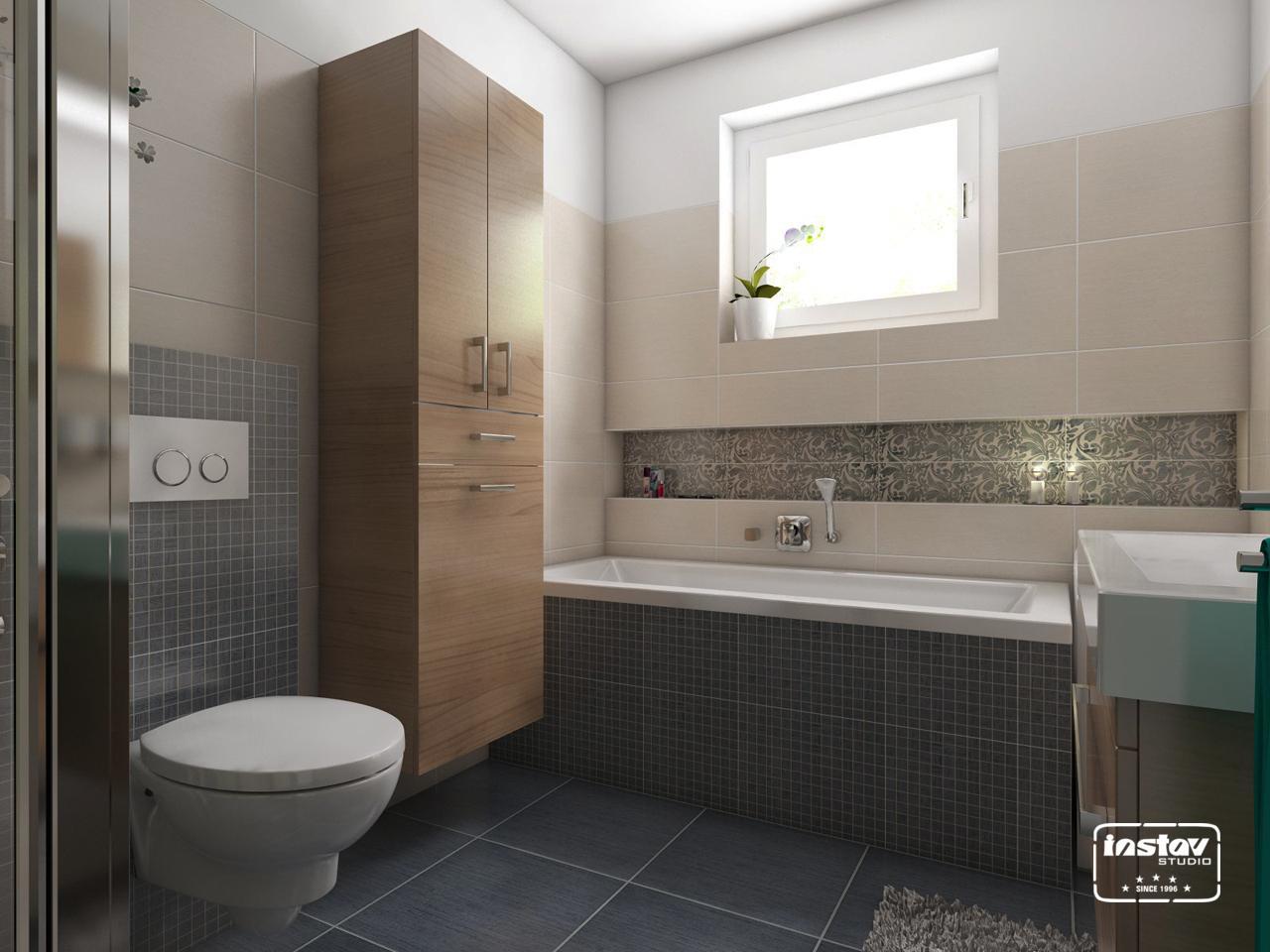 Vizualizácie kúpeľní - Vizualizácia kúpeľne - Elegant