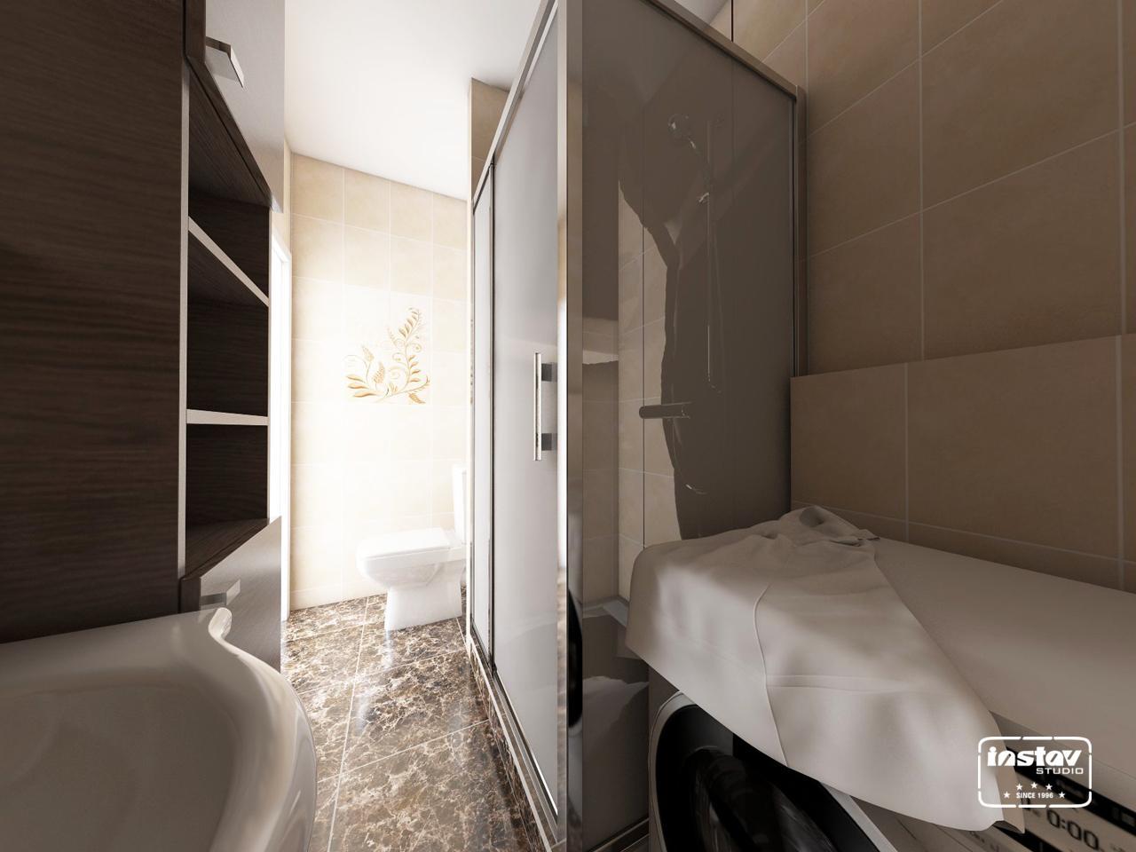 Vizualizácie kúpeľní - Vizualizácia kúpeľne - Oriano