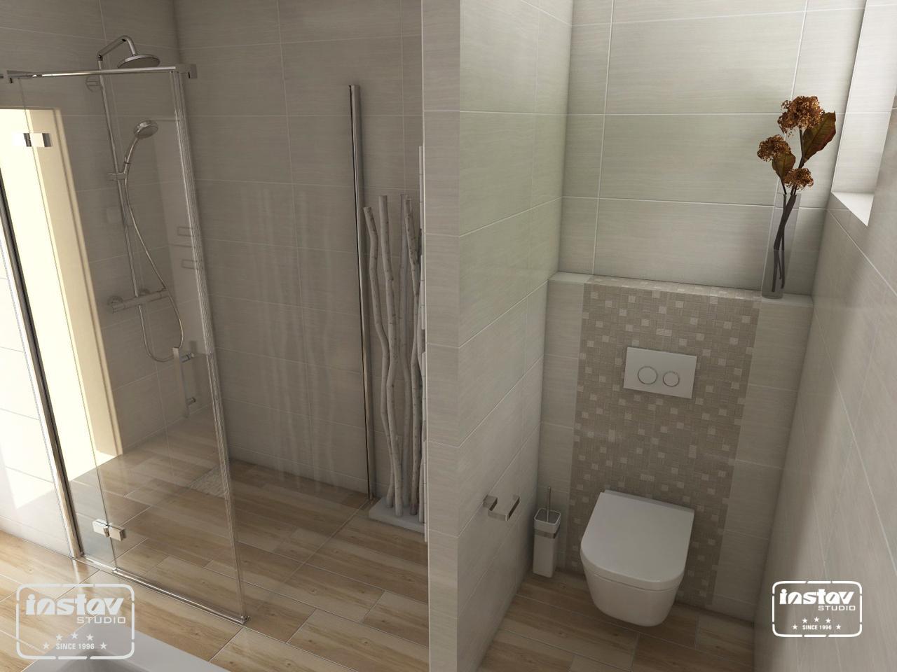 Vizualizácie kúpeľní - Vizualizácia kúpeľne - Egzotica